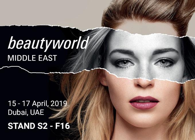 Dal 15 al 17 aprile 2019 Scatolificio Giorgi sarà presente alla fiera Beauty World Middle East di Dubai, stand S2-F16.